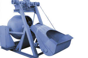 Бетоносмеситель гравитационный со скипом БС-1000-ГС