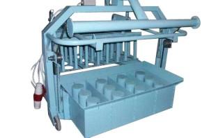Станок для производства шлакоблоков СБС-08 (4 блока)