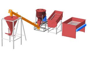 Линия производительностью 5 тонн в смену МЗ-5Т