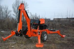 Прицепной мини-экскаватор Mini Digger-2500-М