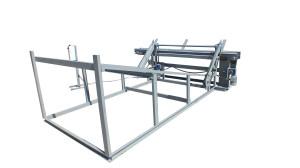 Станок для автоматической подачи брёвен ПБ-06