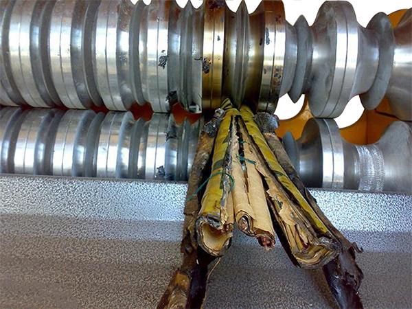 Как извлечь медь из кабеля полтинник 1927