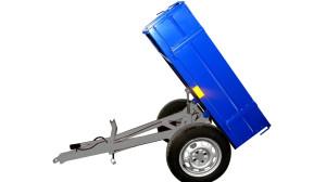 Прицеп для мини трактора